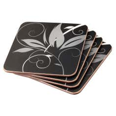 Fleur Collection Coaster Set