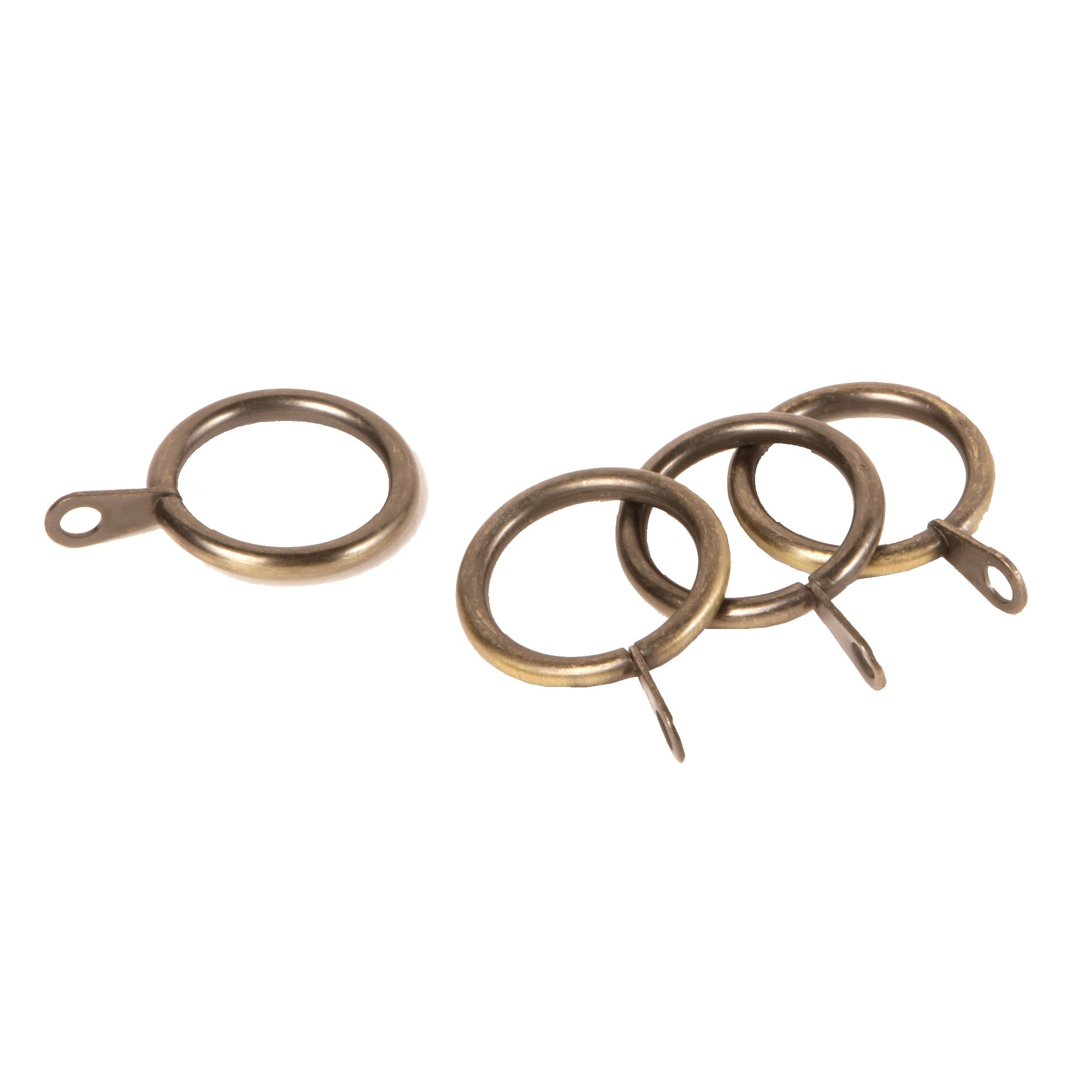 Florentina Collection Antique Brass Curtain Rings