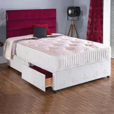 Bronze 600 Pocket Comfort 2 Drawer Divan Bed