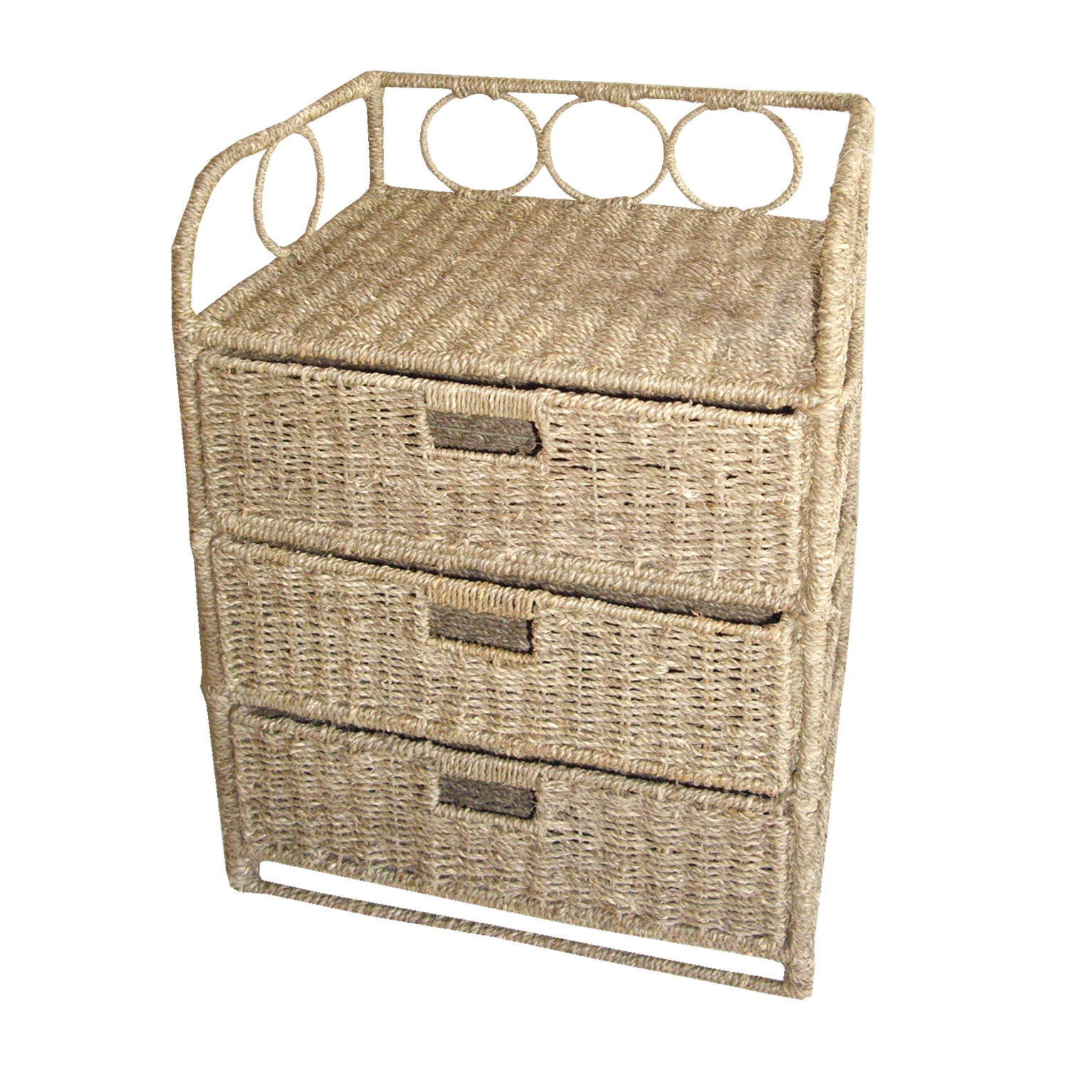 Hawthorne Natural 3 Drawer Unit