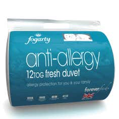Fogarty Forever Fresh Anti Allergy 12 Tog Duvet