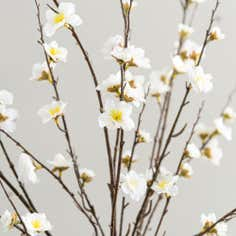 Artificial Peach Blossom Spray