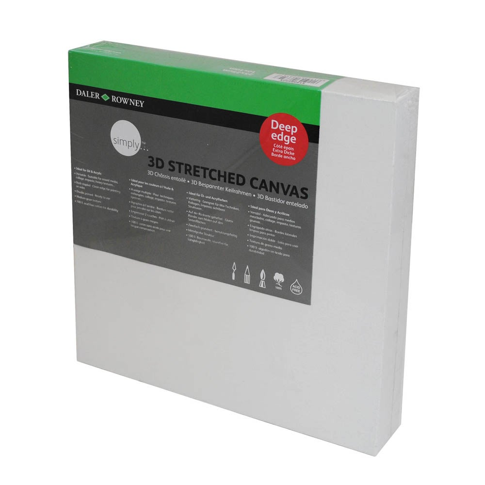 Daler Rowney 3D Stretched Canvas