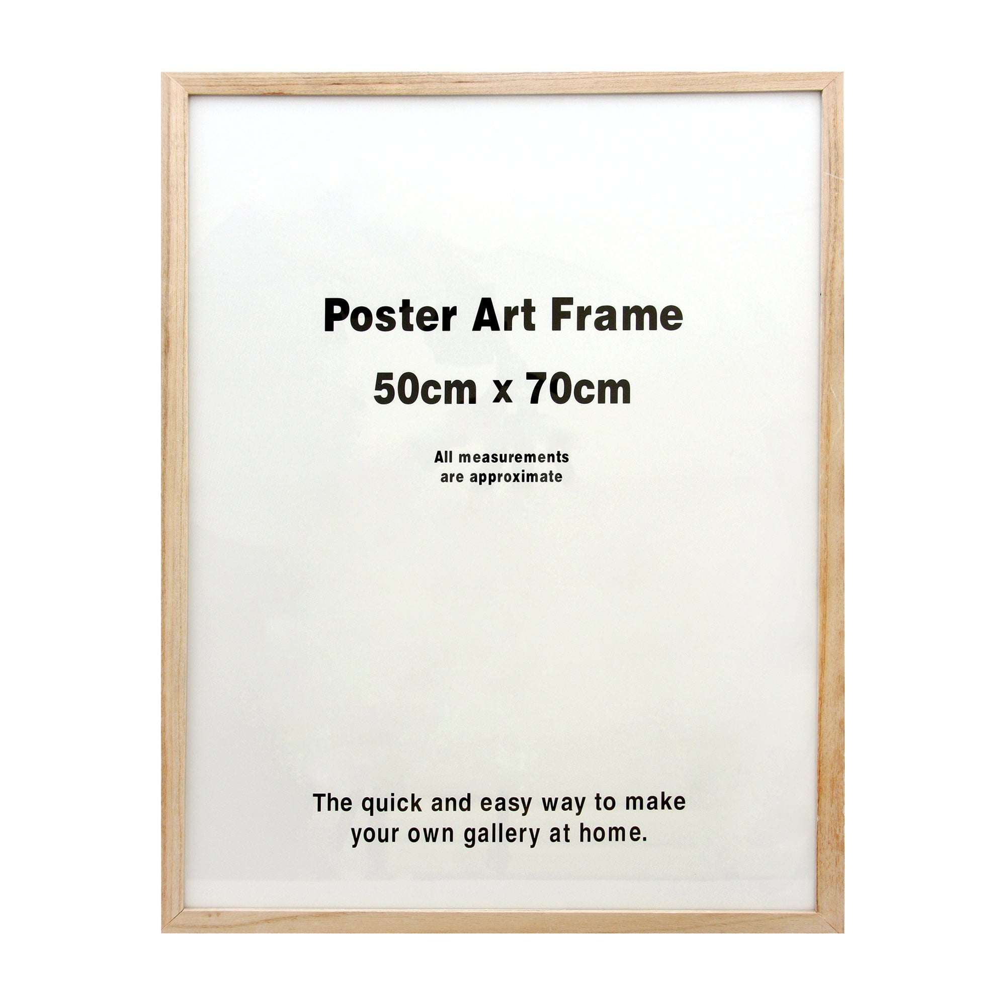 Natural Poster Art Frame