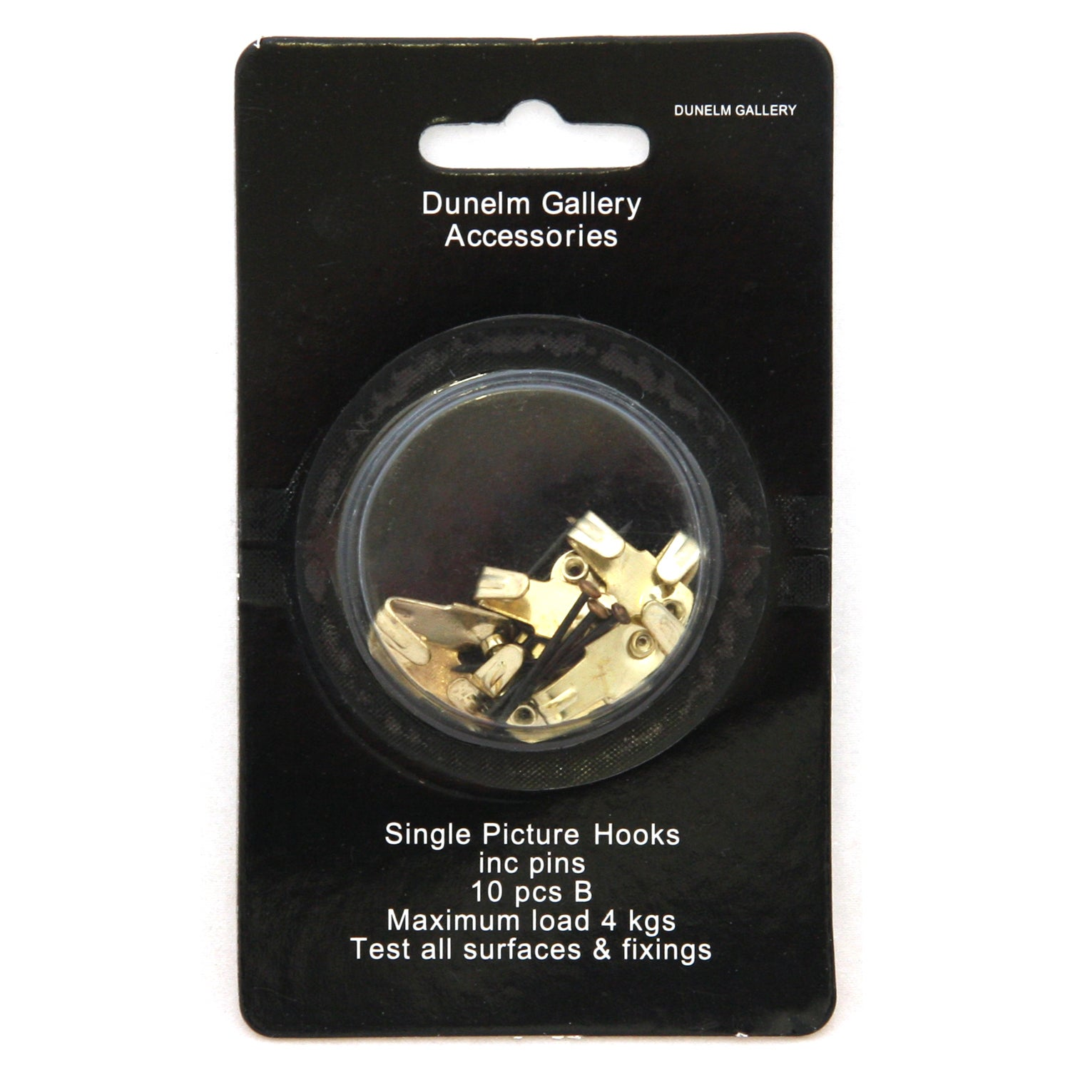 Pack of 10 Single Picture Hooks