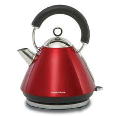 Morphy Richards Accents Red Pyramid Kettle