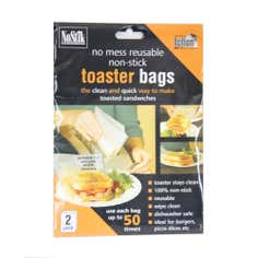 NoStick No Mess Reusable Non-Stick Toaster Bags