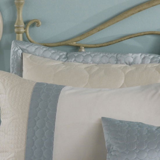 Duck Egg Circles Bedlinen Collection