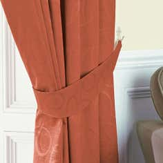 Terracotta Toledo Collection Curtain Tiebacks