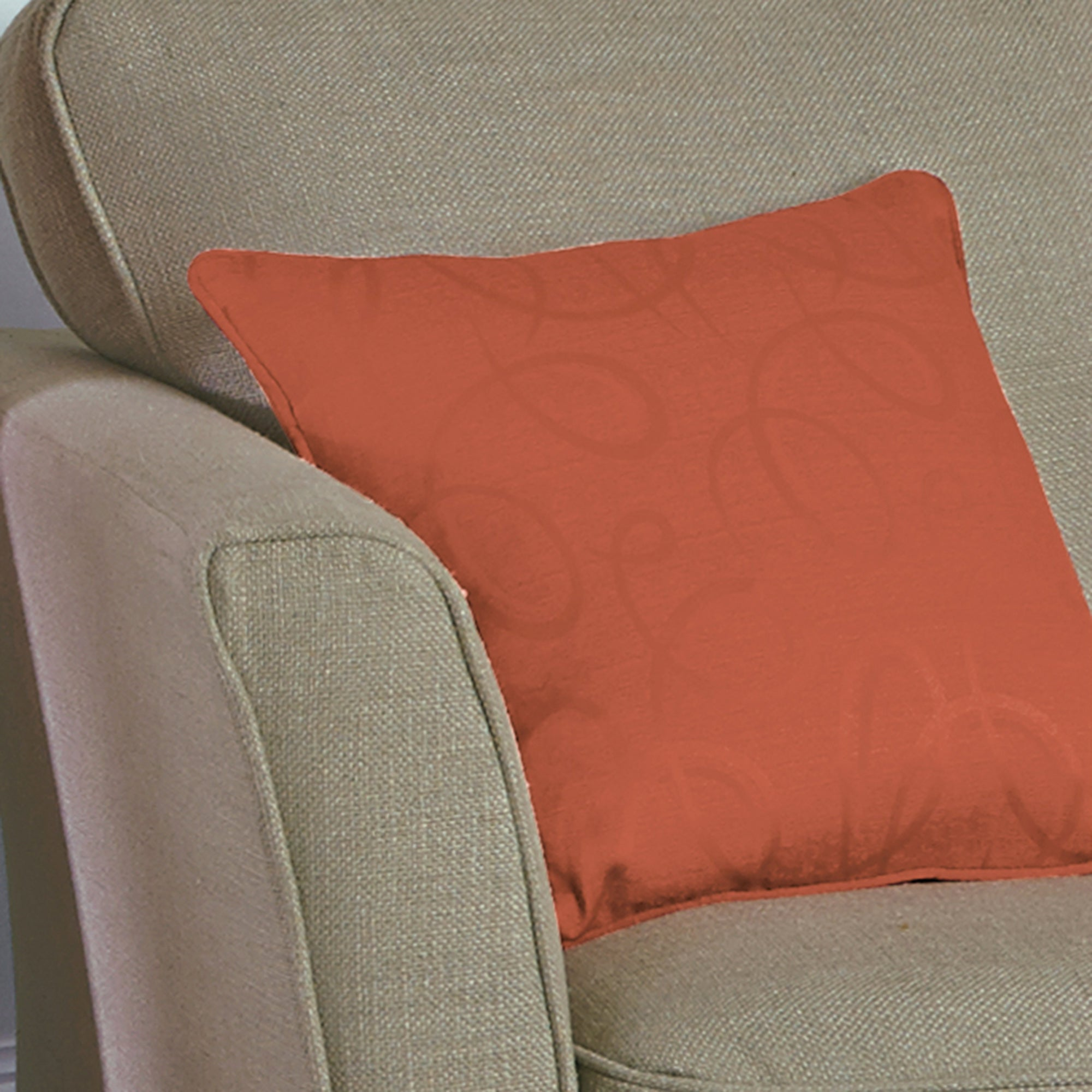 Terracotta Toledo Collection Cushion