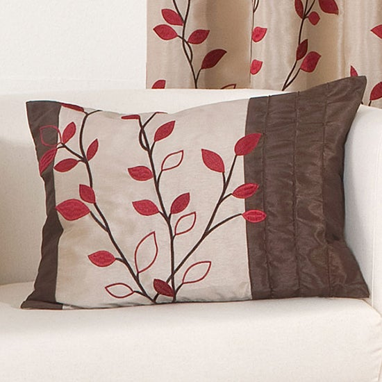 Red Osaka Collection Boudoir Cushion