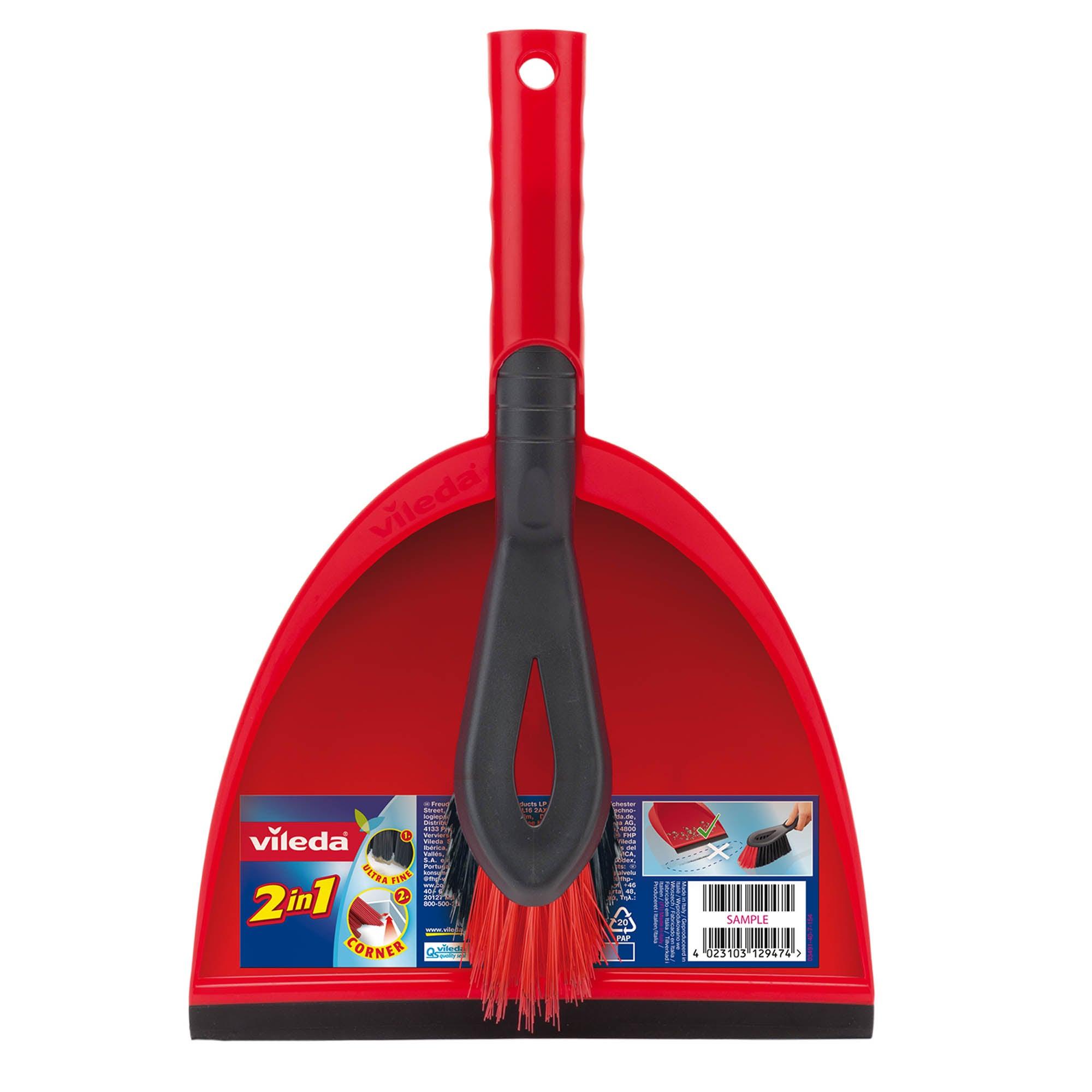 Vileda Dustpan and Brush Set