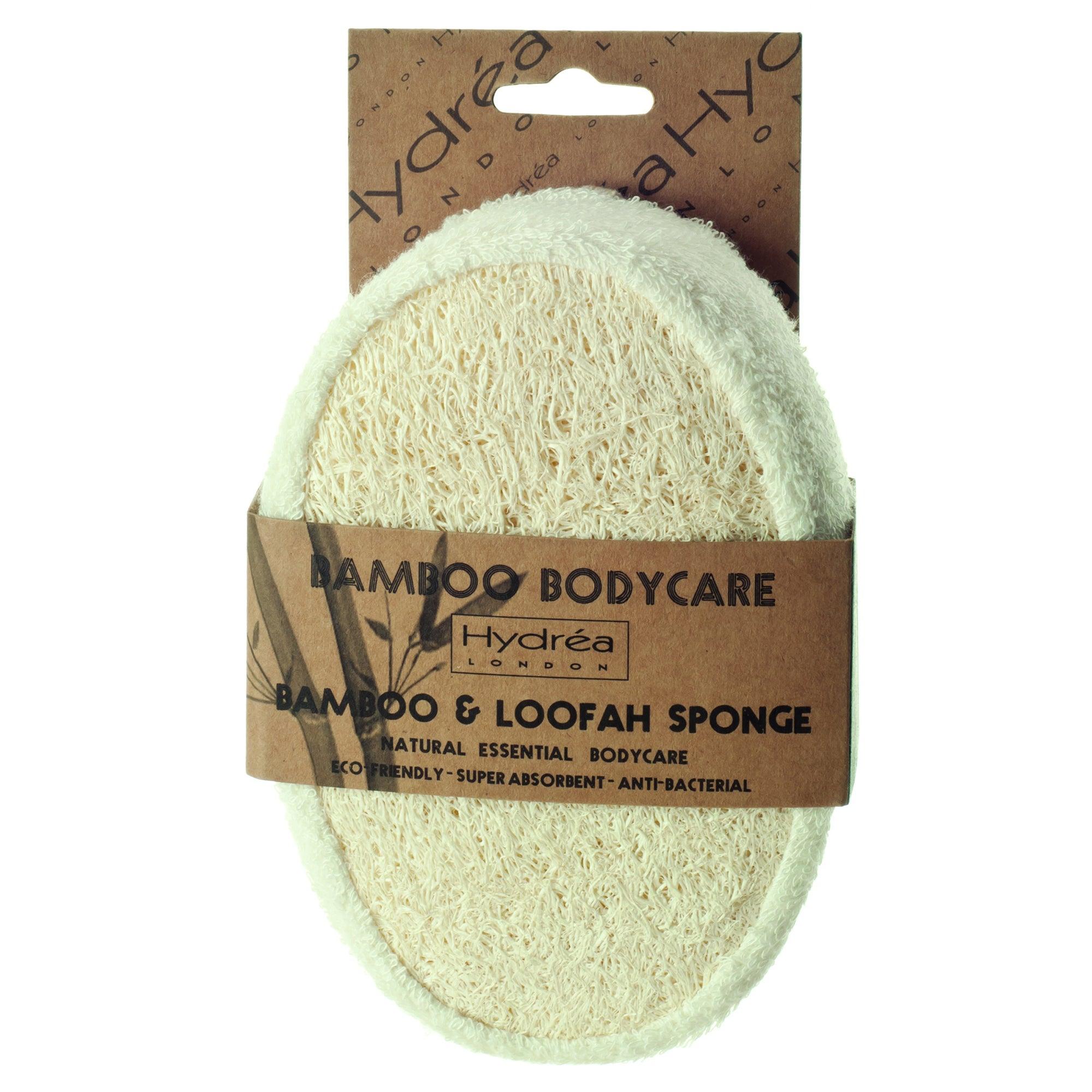Hydrea Bamboo and Loofah Sponge