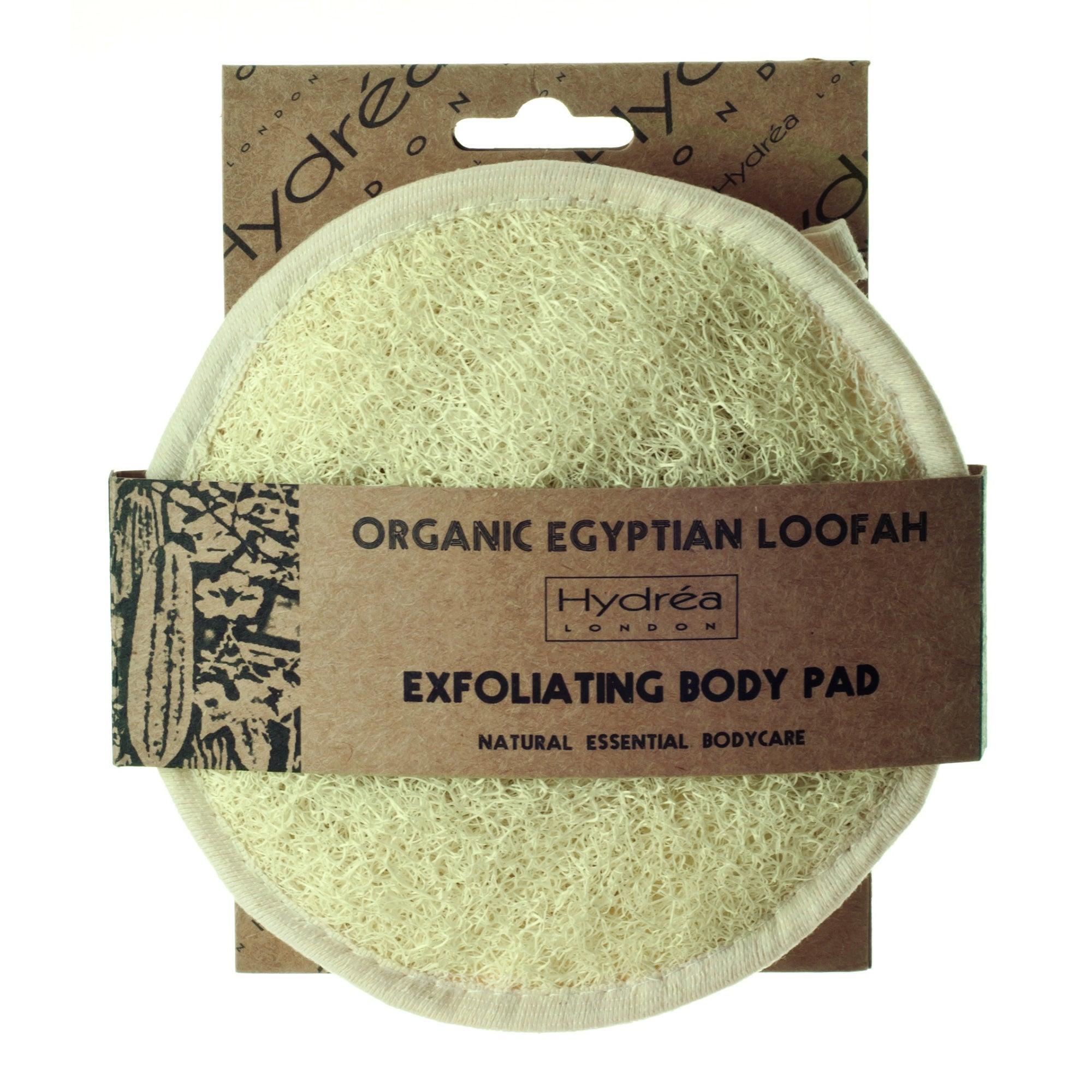 Hydrea Organic Egyptian Loofah Exfoliating Body Pad