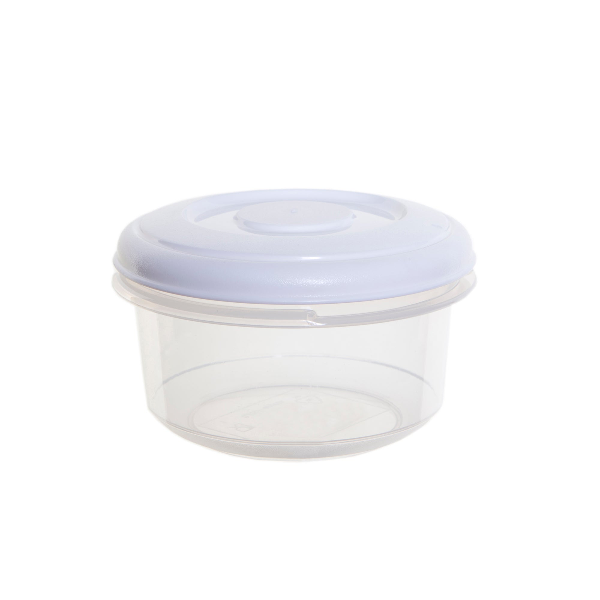 Whitefurze 0.25 Litre Round Food Container