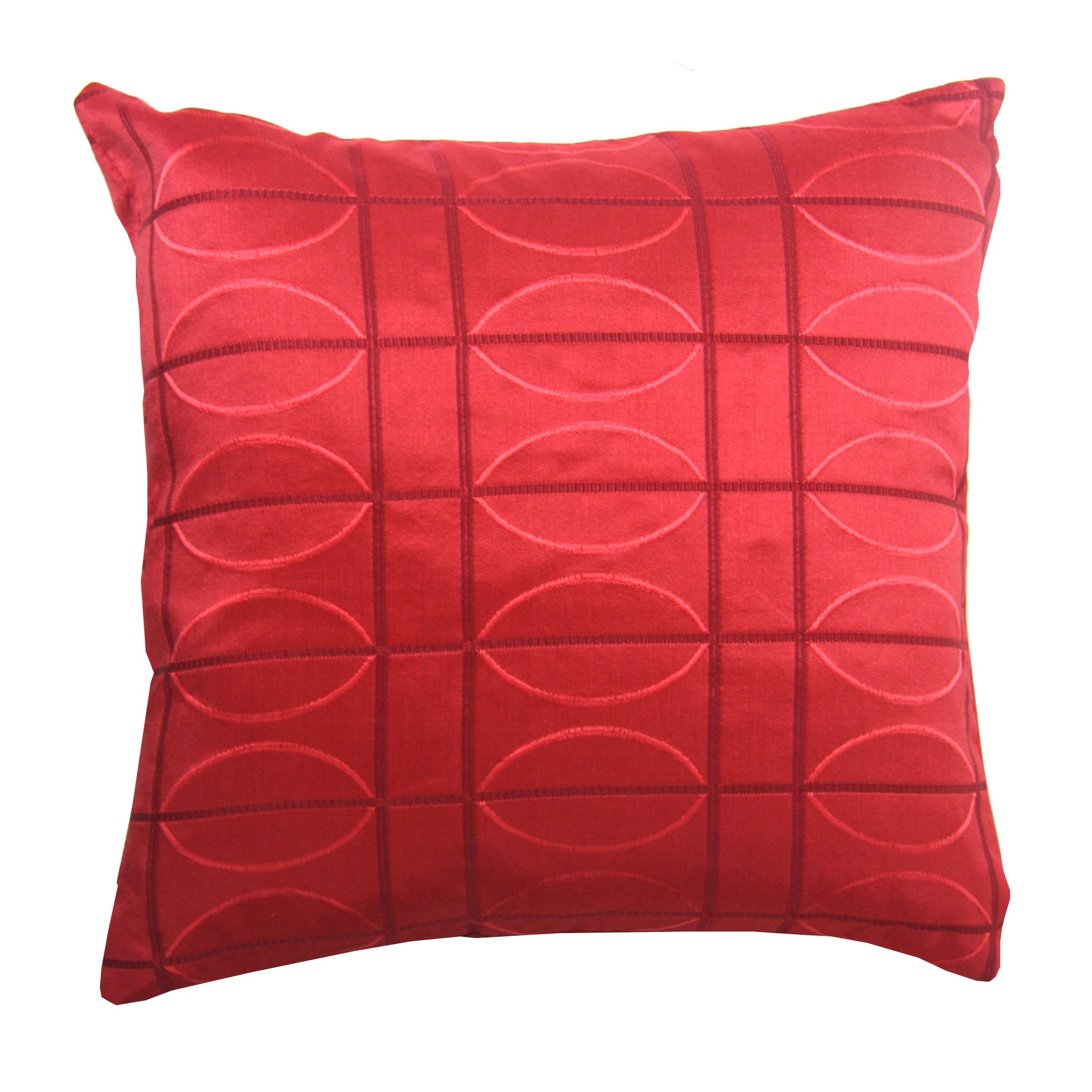 Red Electro Cushion Cover