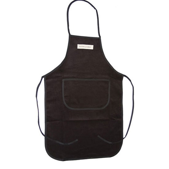 Waters and Noble Cord Collection Black Apron