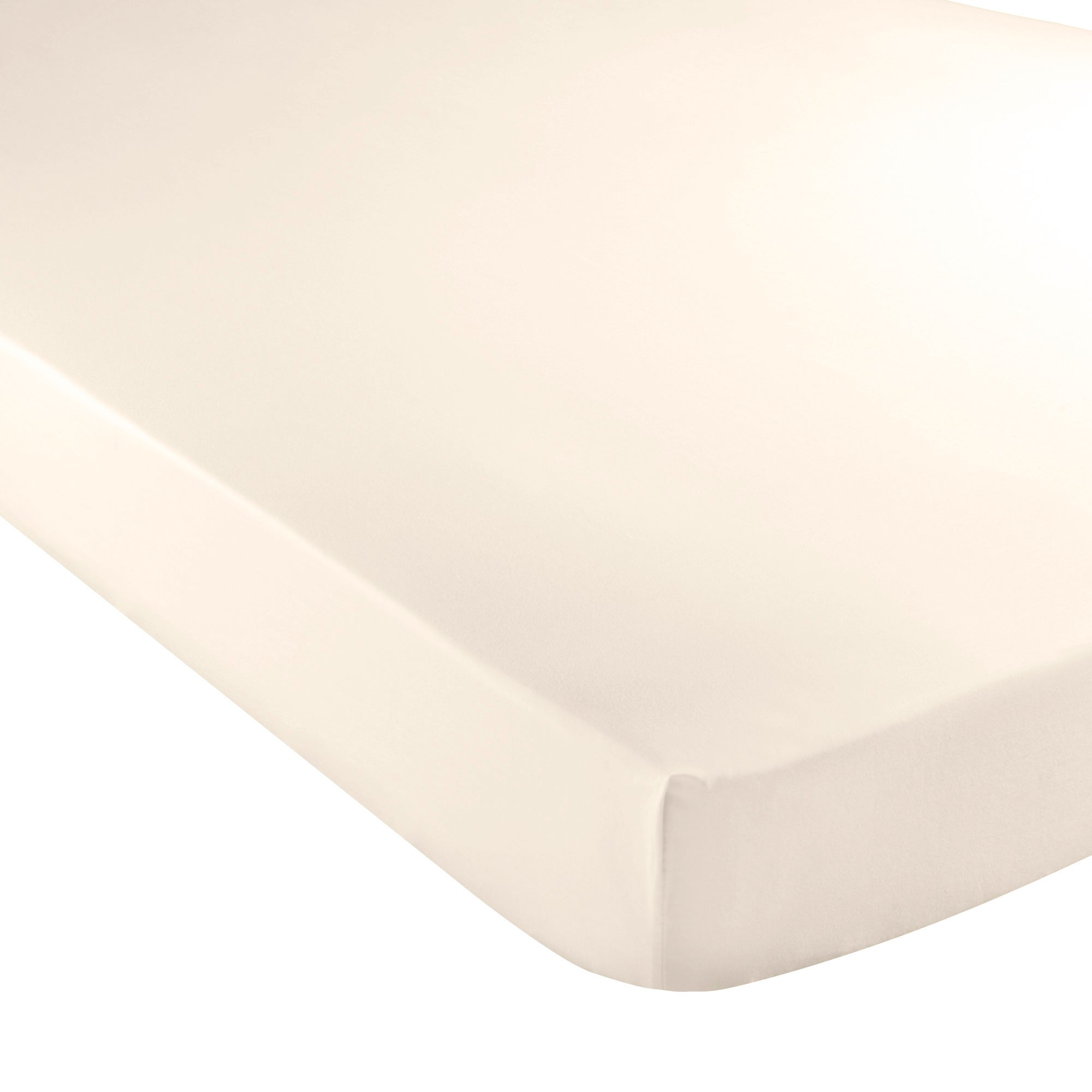 White Hotel Plain 300 Thread Count Collection Fitted Sheet