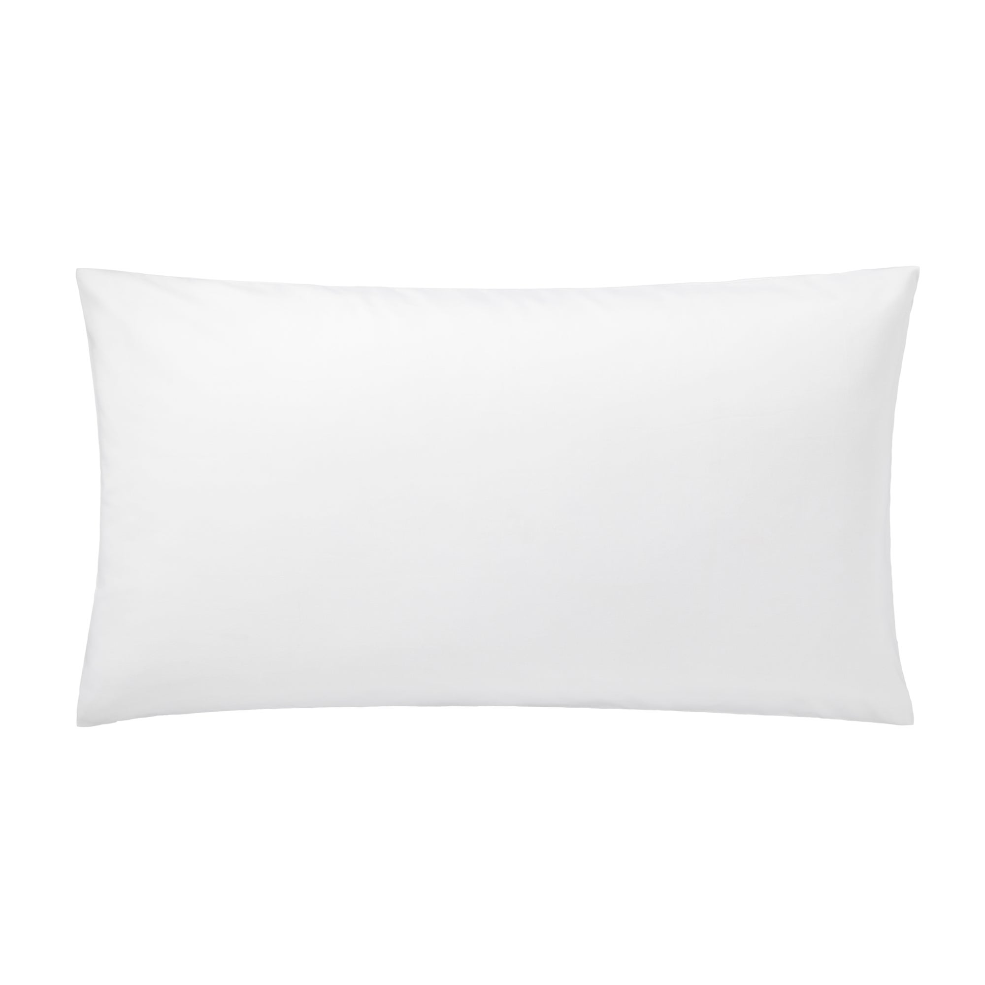 White Hotel Plain 300 Thread Count Collection Kingsize Pillowcase