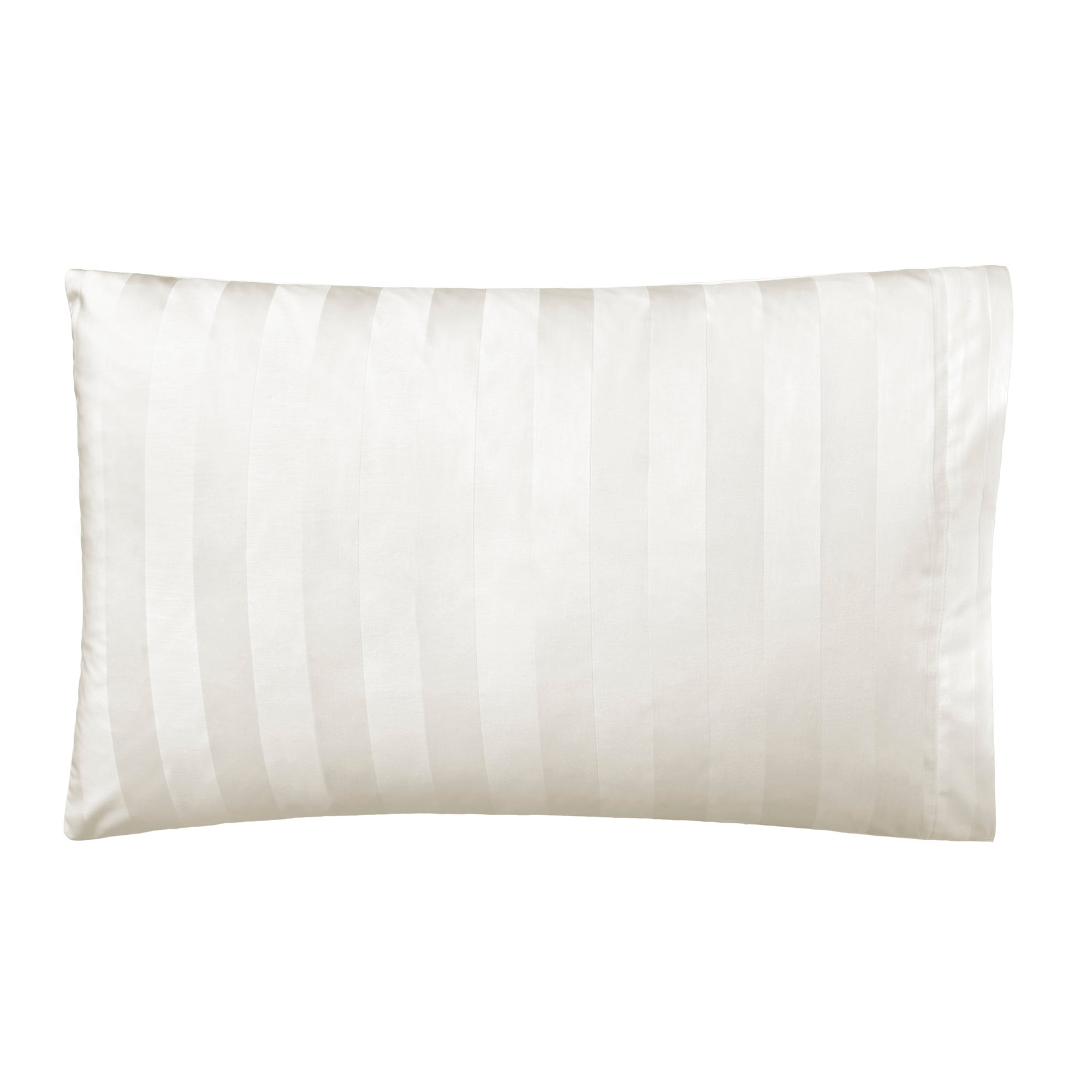 Cream Hotel Stripe 300 Thread Count Collection Housewife Pillowcase