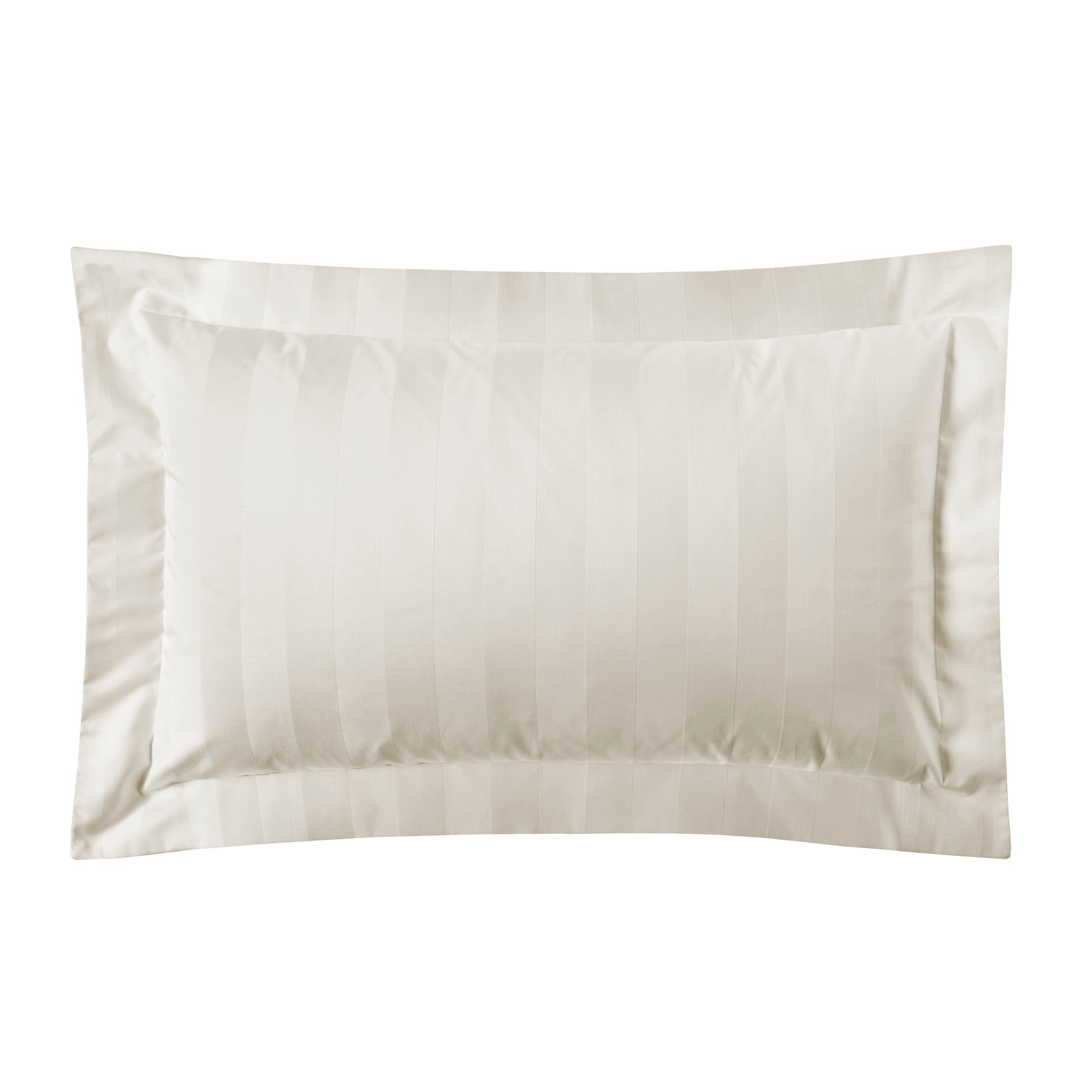 Cream Hotel Stripe 300 Thread Count Collection Oxford Pillowcase