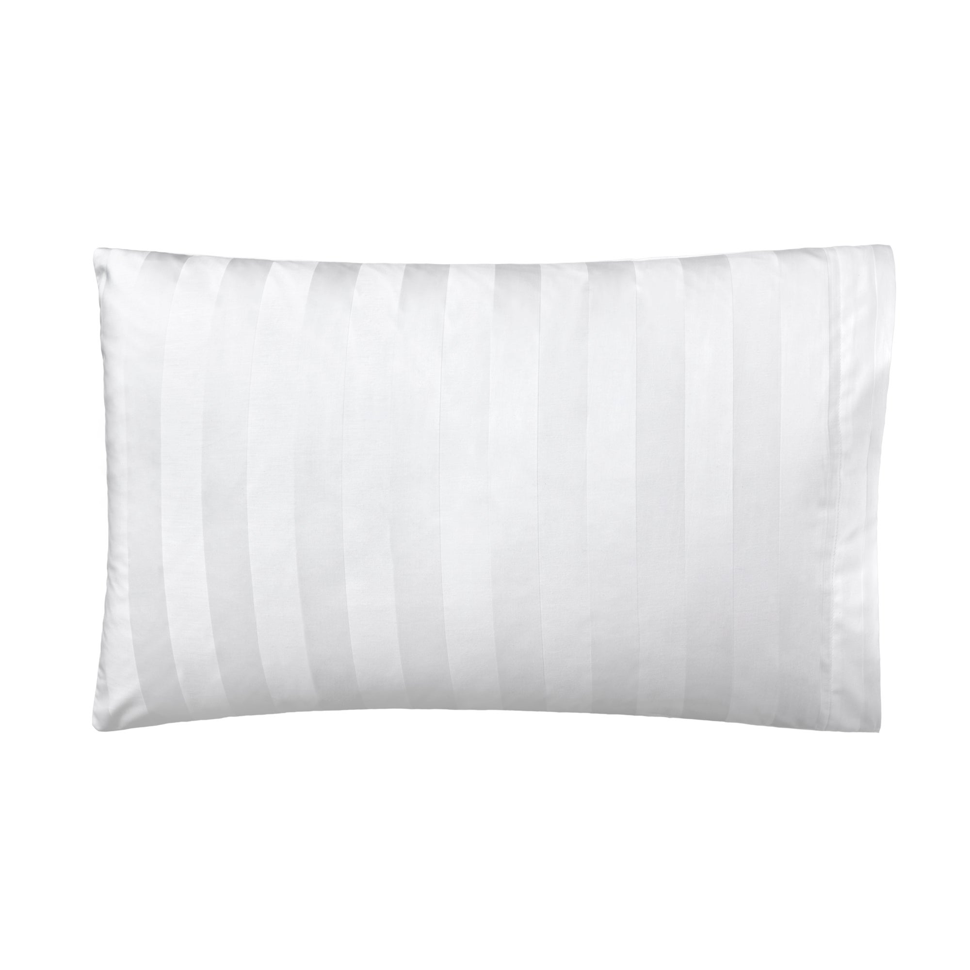 White Hotel Stripe 300 Thread Count Collection Housewife Pillowcase
