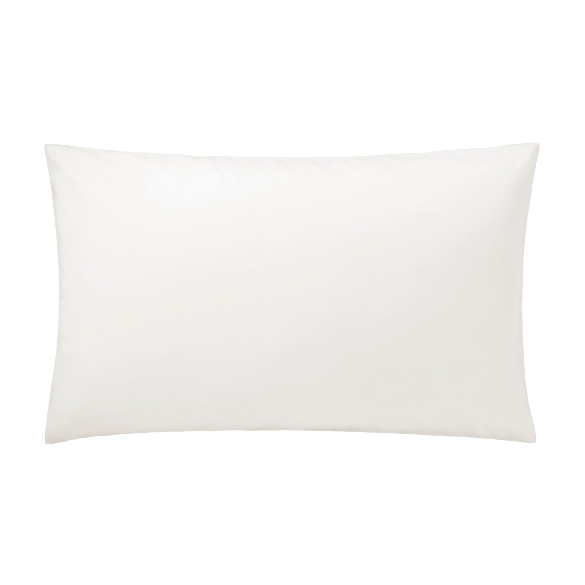 Cream Hotel Pima Plain 400 Thread Count Collection Housewife Pillowcase