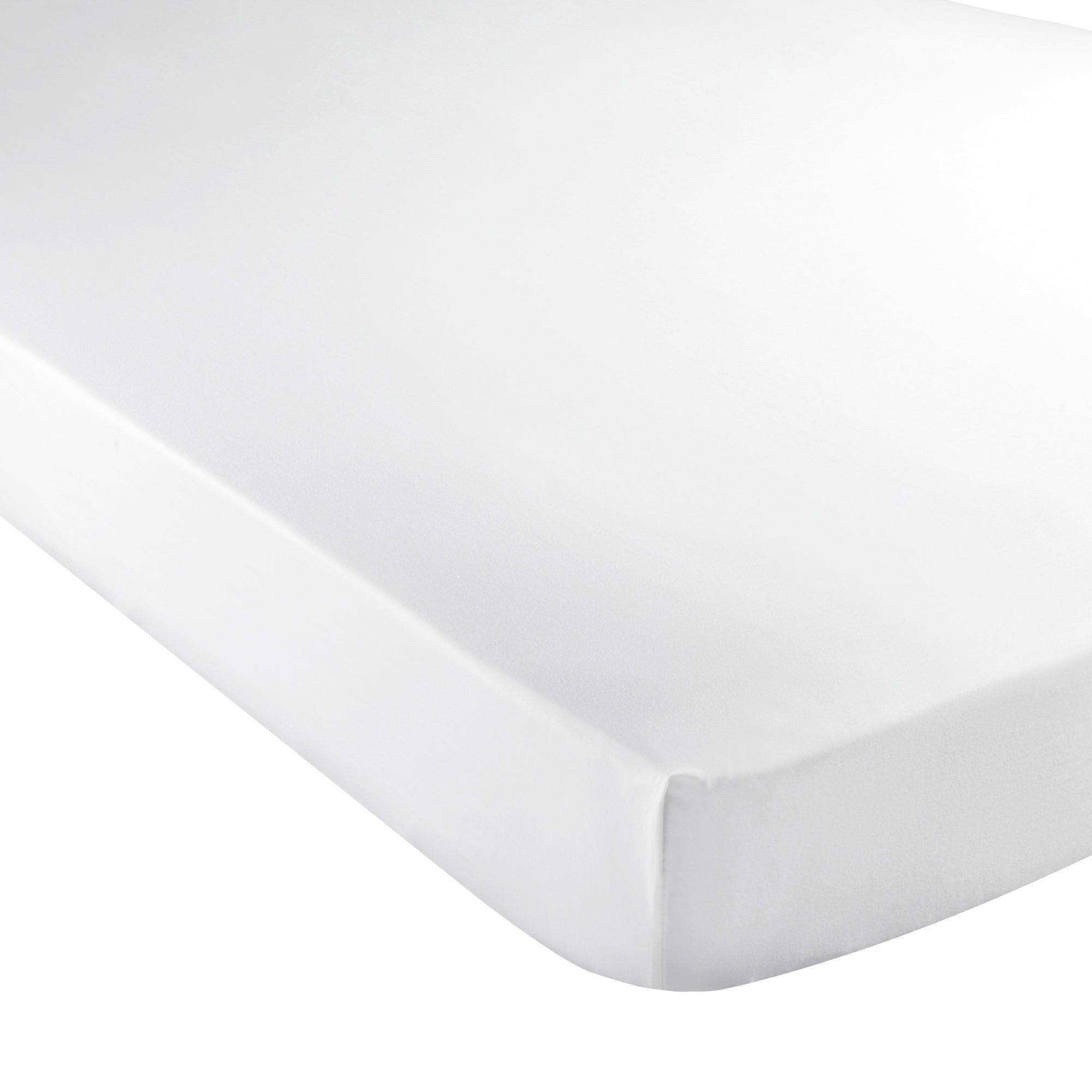White Hotel Pima Plain 400 Thread Count Collection Fitted Sheet