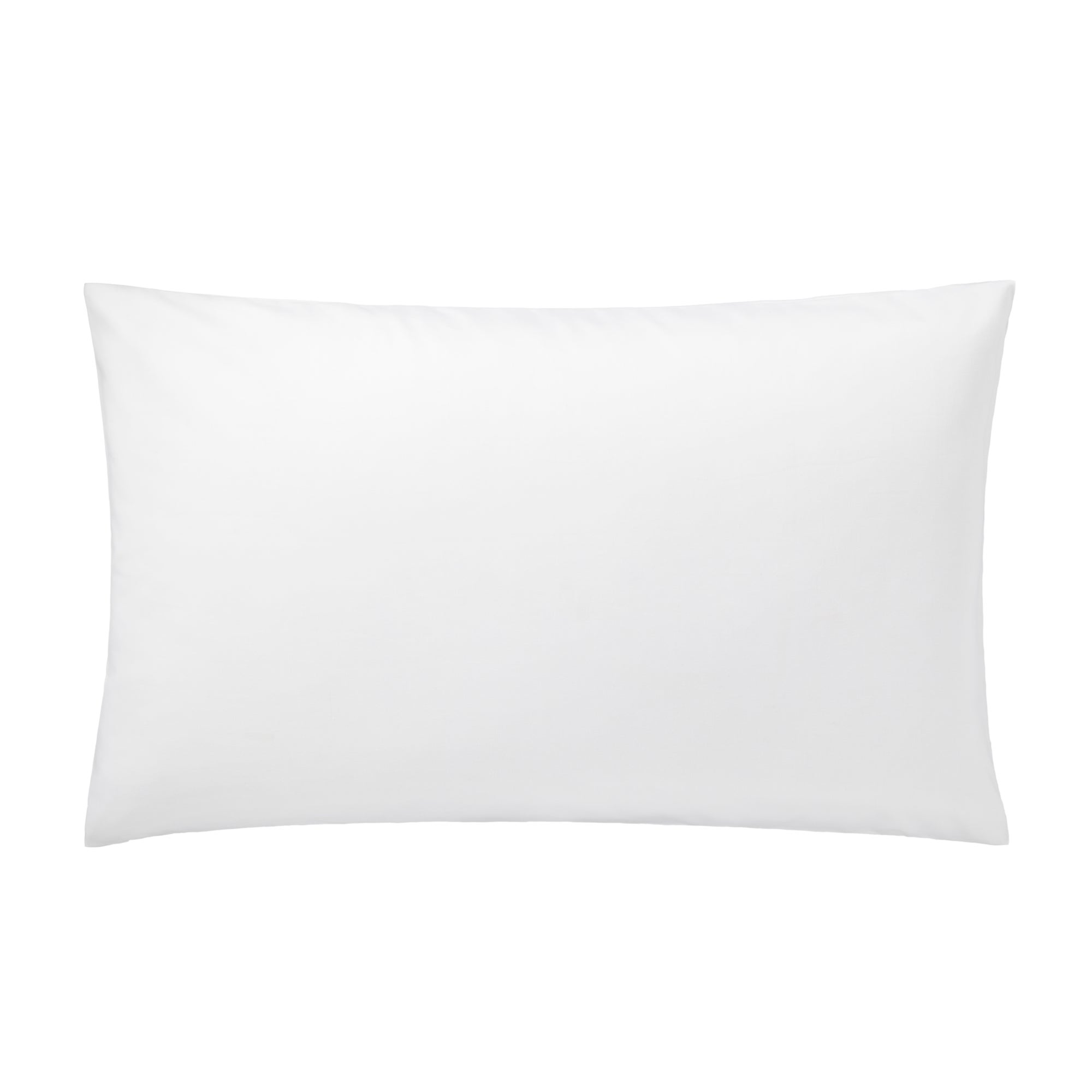 White Hotel Pima Plain 400 Thread Count Collection Housewife Pillowcase