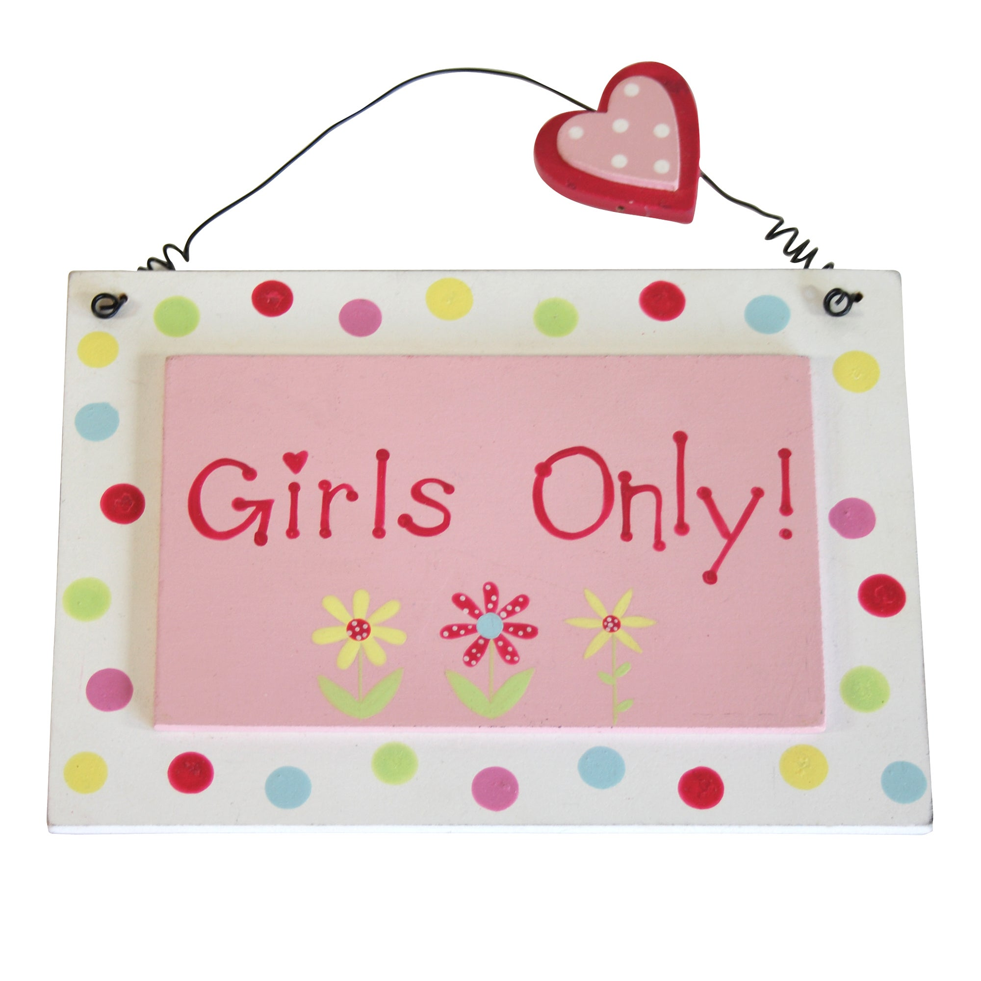 Kids Annabelle Collection Hanging Plaque
