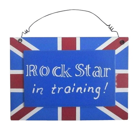 Kids Union Jack Collection Hanging Plaque