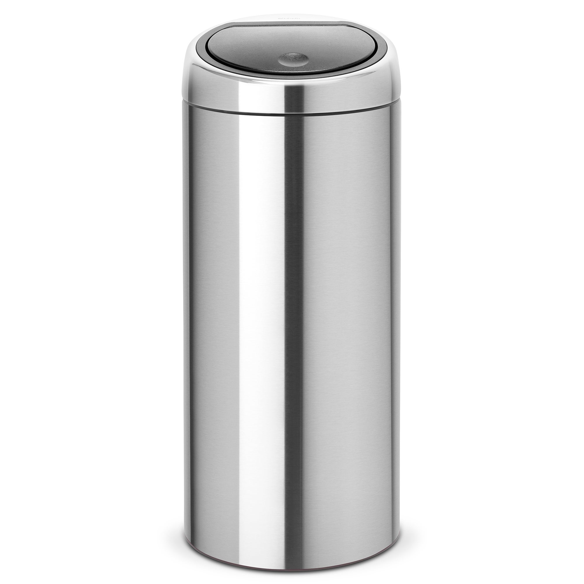 brabantia matt steel 30 litre touch bin dunelm. Black Bedroom Furniture Sets. Home Design Ideas