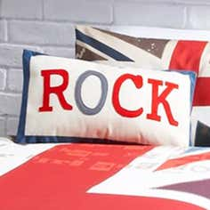 Union Jack Rock Cushion