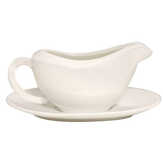 Pausa Collection Gravy Boat and Saucer