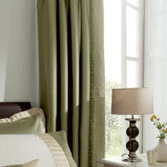 Green Athens Thermal Pencil Pleat Curtains