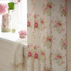 Dorma Pink Elsie Collection Curtains