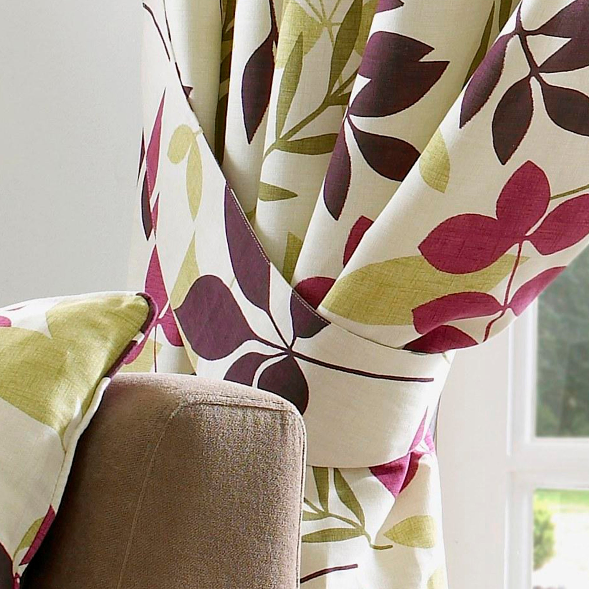 Plum Jakarta Curtain Collection