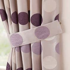 Mauve Luna Collection Tiebacks