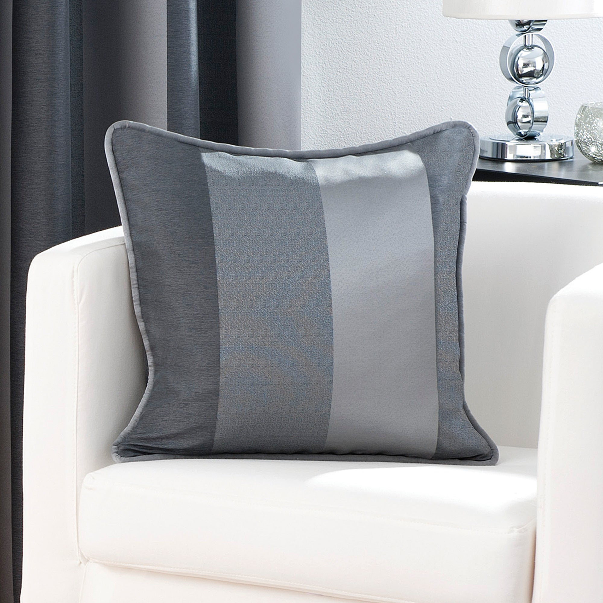 Pewter Monaco Collection Cushion