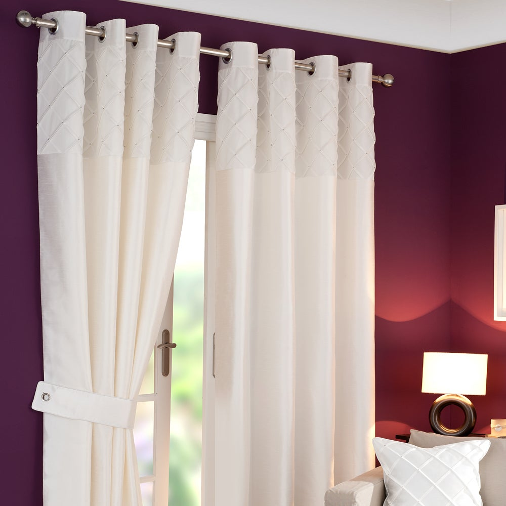 White Parisian Curtain Collection