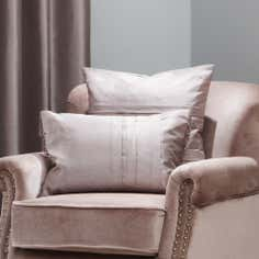 Hotel Mink Pintuck Collection Boudoir Cushion
