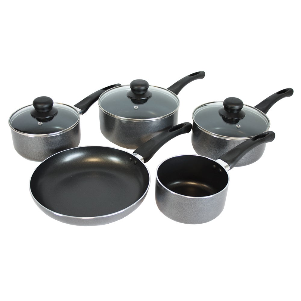 Cookshop Collection 5 Piece Aluminium Pan Set