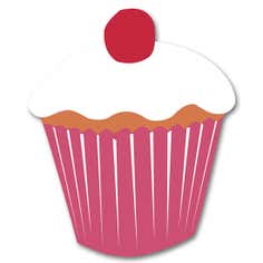 Kids Cookshop Collection Cupcake Fleximat