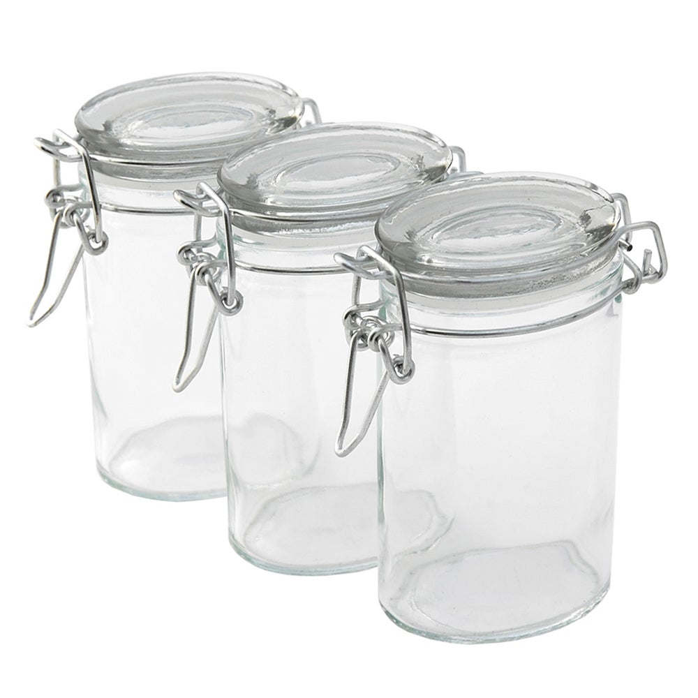 Tala Glass Clip Top Jar