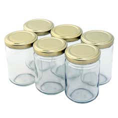 Tala Pack of 6 Glass Screw Top Jars