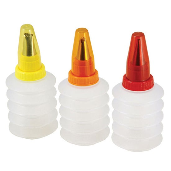 Tala Set of 3 Icing Bottles