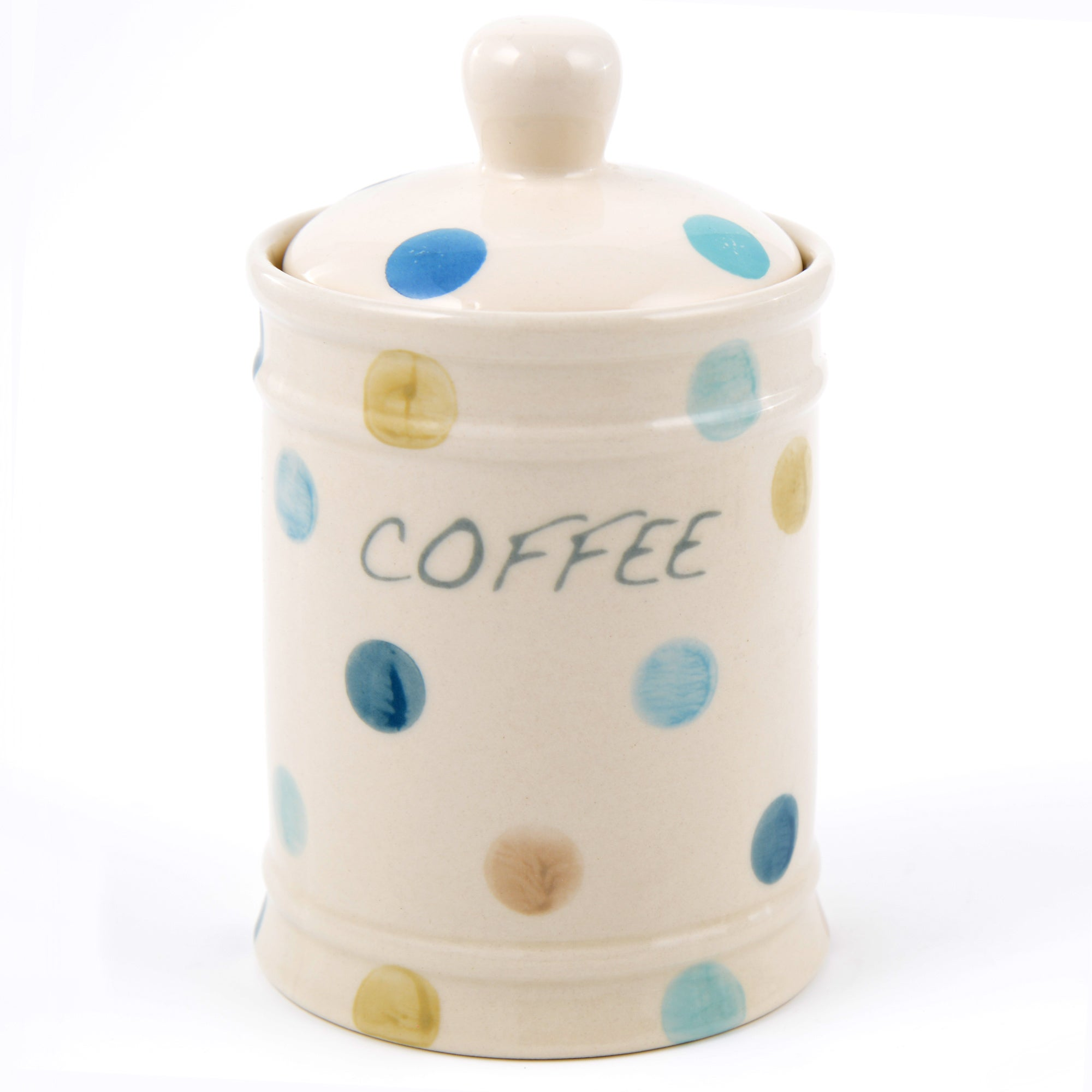 Blue Country Spot Collection Coffee Canister