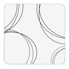 Ellipse Collection Pack of 6 Coasters