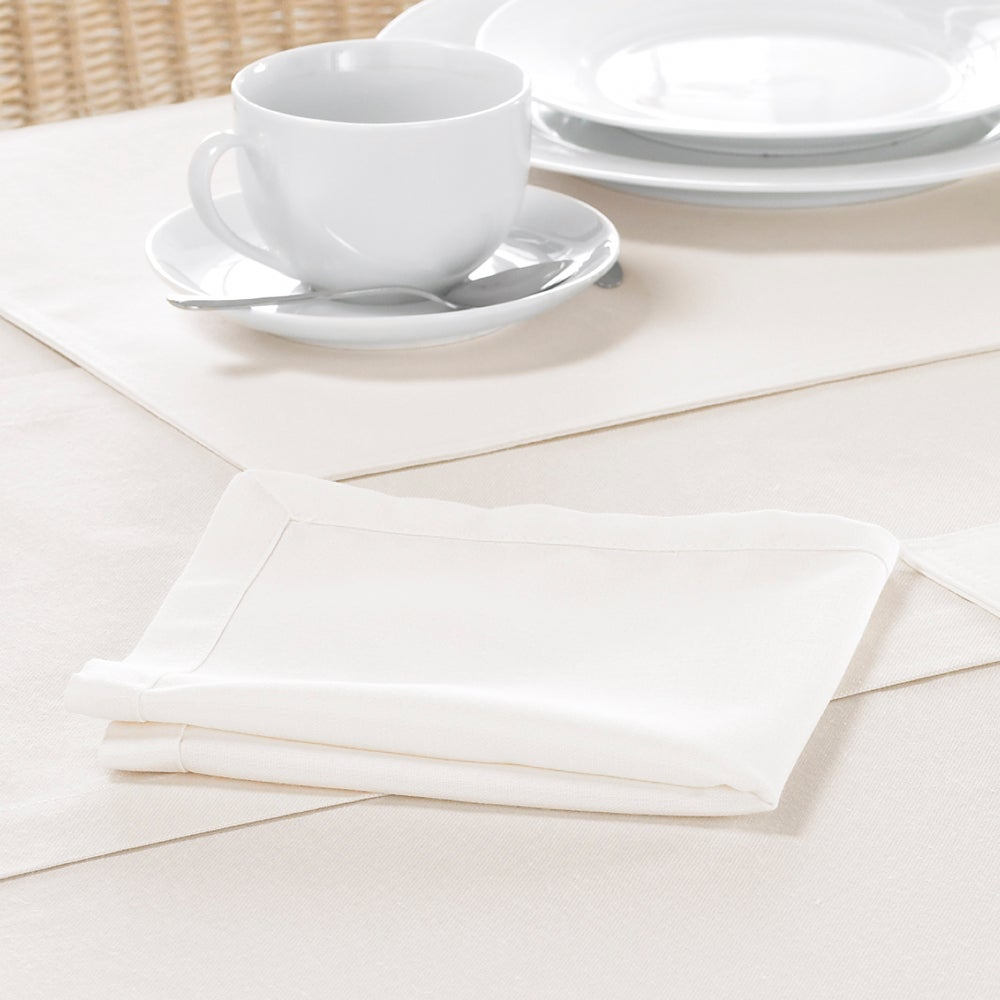 Cream Madeira Collection Pack of 4 Napkins