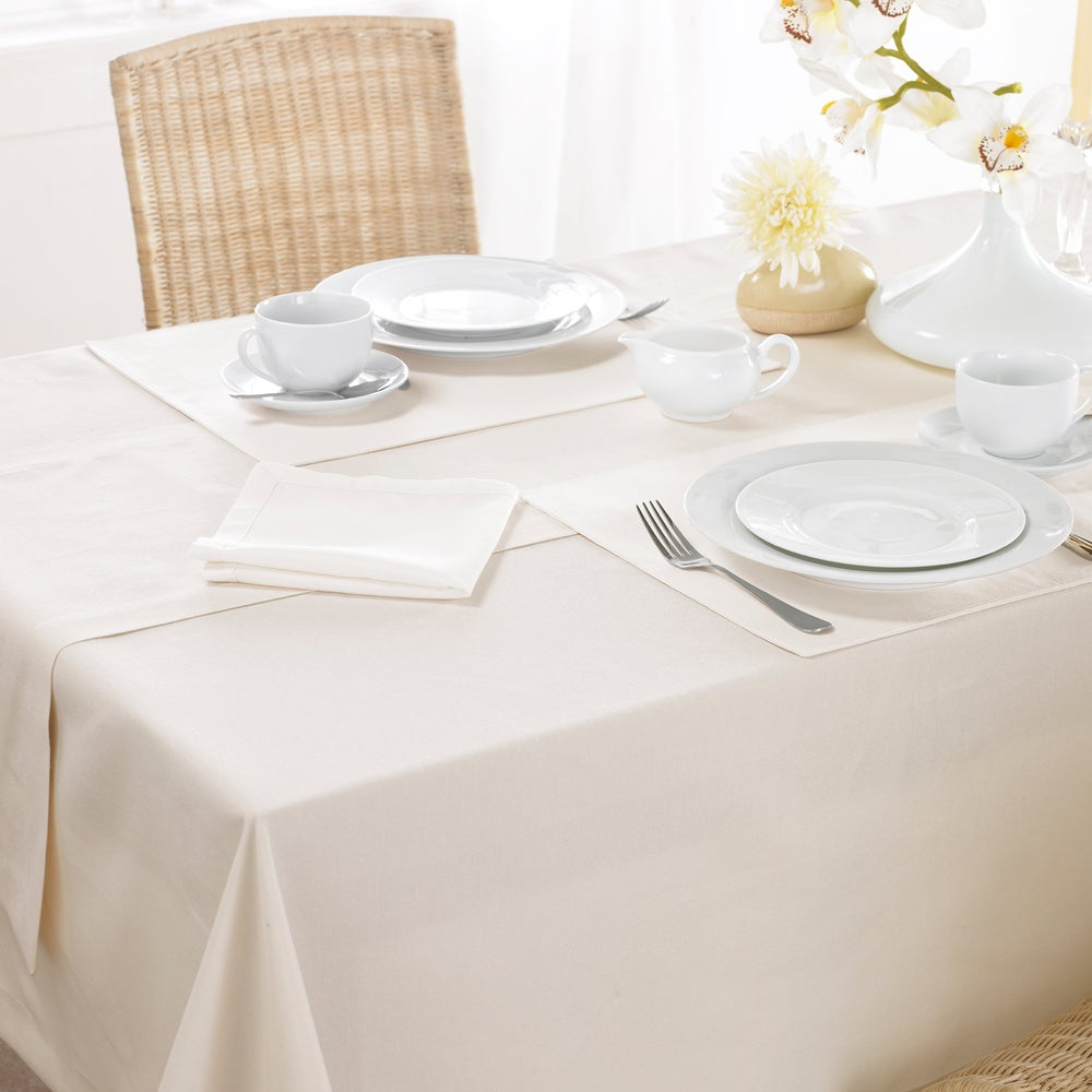 Cream Madeira Collection Tablecloth
